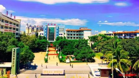 中央电视台采访儋州二中开学工作
