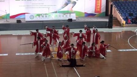 长河镇第四届全运会:42式太极剑:团体表演