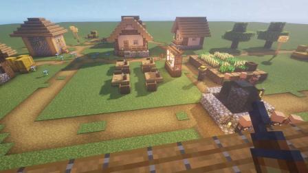 我的世界爆改村民屋,做人的事村民是一点不沾边