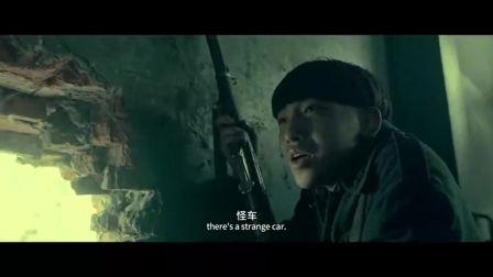 他们的车坦克车装了防护,能把手榴弹弹开,要用爆破