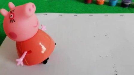 儿童简笔画,猪妈妈涂画儿童益智玩具