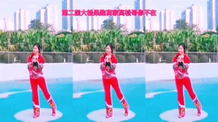 王妹儿广场舞(418号)《跑四回》