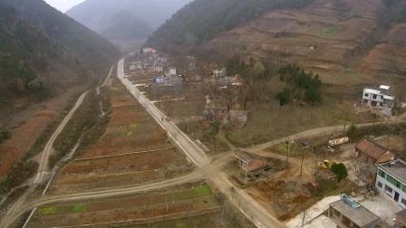 航拍丹凤县保定村一组(2016.11.29)#农村