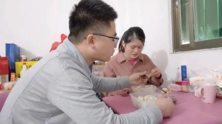 奇哥想吃饺子,喜妹直接买三斤,在广东也让他找到西安的味道