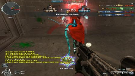 CH明明穿越火线CF解说:猎手模式居然出现间谍,百万僵尸来袭