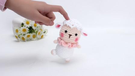 玩偶钩针编织 跳芭蕾的小羊 part 2