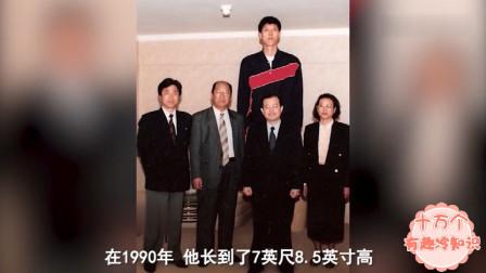 世界上最高的7位巨人,最高的一位堪比一层楼!