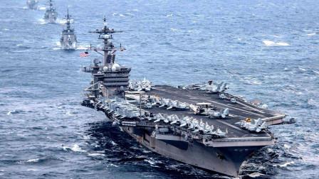 """美军航母其实是20艘,一半航母竟被""""隐藏"""",实力远超中国"""