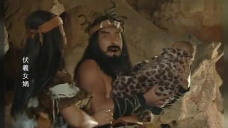 部落河边祭祀,不料一个婴儿骑着鳄鱼而来
