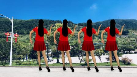 好听的情歌,精选广场舞《只想做你的新娘》背面演示