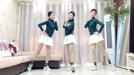 网红广场舞《人心伤了只有疼》流行32步健身操