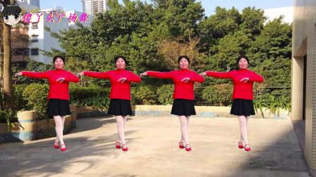 情歌广场舞《再唱兰花花》走遍了大陕北,美名传天下