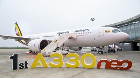 乌干达航空迎来机队首架A330neo飞机