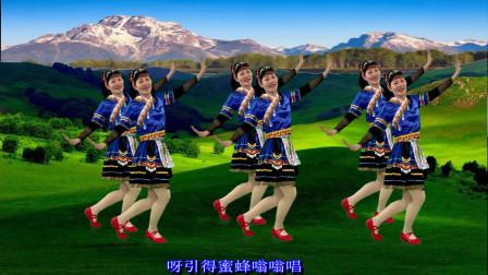 老歌新跳《茶山情歌》听不烦的老歌跳不厌的广场舞