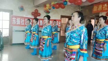 东振舞蹈队表演的  再唱山歌给党听
