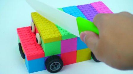 儿童亲子互动,动力沙DIY彩色小汽车,快来看看吧