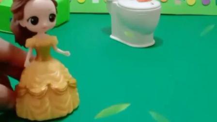 亲子幼教宝宝:贝尔以为这样做,她就可以不用打扫厕所了