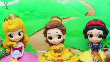 三个公主都有小松鼠了