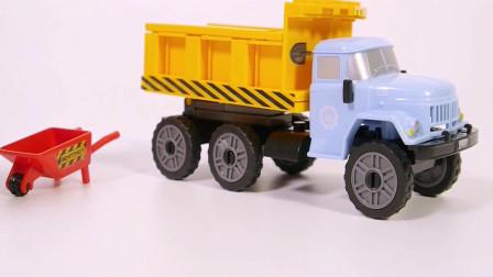 积木拼装卡车