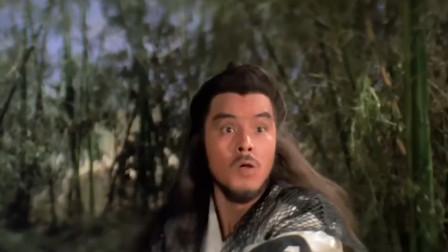 男子真的太卑鄙了,用剑打不过女子,居然用法术把女子困起来