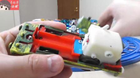 托马斯詹姆斯轨道玩具 小火车大集合一起出发
