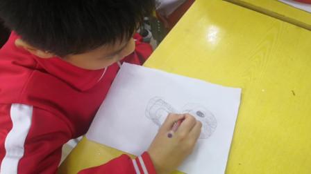 儋州市第二中学初一(2)班美术课作业展示
