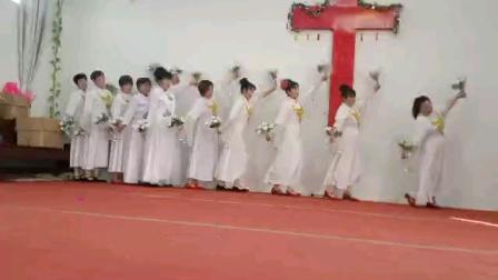 高作镇后刘教会2020年圣诞舞蹈—最美的奉献