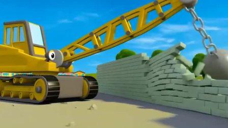 汽车玩具卡通:汽车嘉年华,小汽车们变装成各种动物造型