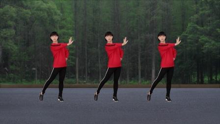 微妙广场舞《后悔当初没把你挽留》原创大众健身舞附分解教学