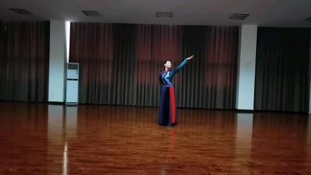 蒙古舞:《今夜草原有雨》李明琼老师原创,兰花草正面演示