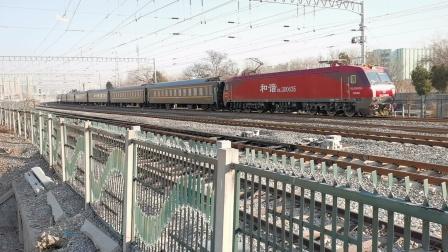 20201221_142106 沈局沈段HXD3D-0635牵引K349次(北京-佳木斯)柳村线路所1道通过