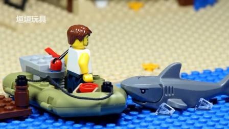 乐高英雄鲨 - 小偷失败