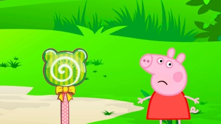 佩奇一家拿着糖果去玩了,为什么乔治没有糖果呢