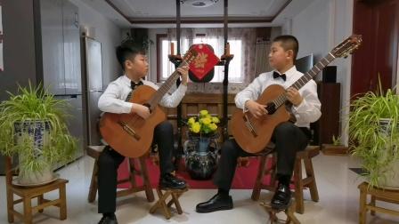 古典吉他二重奏《我和我的祖国》2020-12-26