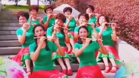 《可可托海的牧羊人》习舞沁雅广场舞