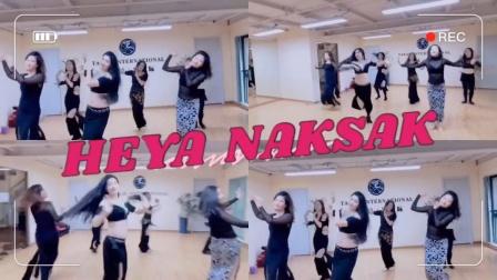 『舞蹈展示』肚皮舞小组合《Heya naksak 》MV版【杭州太拉国际东方舞&印度舞培训漫漫老师】