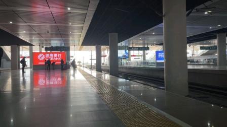 【铁路】武局CR400AF重联进南京南站 G1718