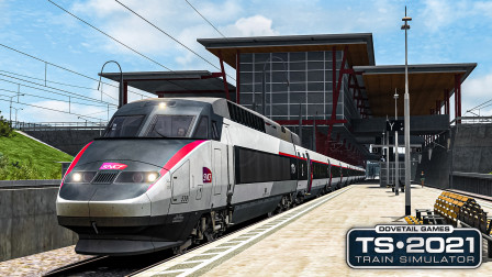 TS2021 LGV地中海线扩展 #1:驾驶TGV-Réseau从法国里昂出发   Train Simulator 2021
