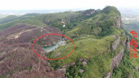 广西博白沙河花石嶂,山上有个天池常年不干枯,水从哪里来?