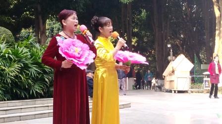 女声二重唱《毛主席派人来》深情歌颂毛主席!
