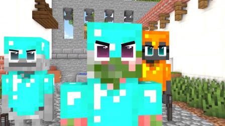我的世界动画-怪物学院-CS大战-MineCZ