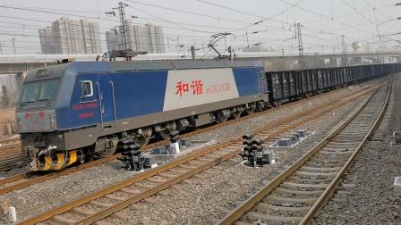 20201226_131843 西局新段HXD3CA-8251牵引敞车咸阳站1道通过