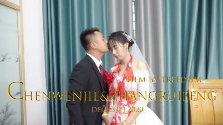 触动力摄影工作室|CHEN&ZHANG婚礼视频花絮MVDEC.13th.2020