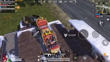 队友还能更搞笑吗,非要开车爬楼,眼见圣诞老人飞走了!
