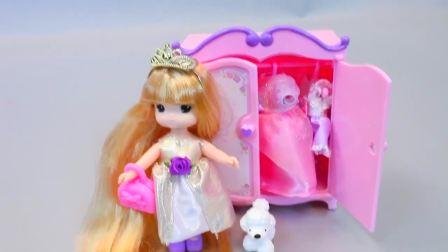 儿童亲子互动,小咪咪公主娃娃卧室装扮,一起来玩吧