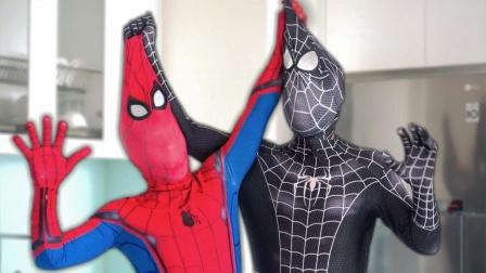蜘蛛侠:毒液和蜘蛛侠同住,招人嫉妒!