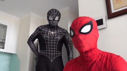 蜘蛛侠:危险就在身边,蜘蛛侠却浑然不知!