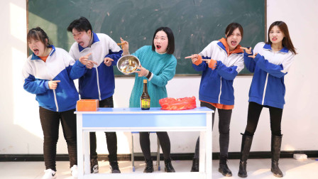 """老师自制""""果子黑暗料理"""",同学们吃后的表情太丰富了,真有趣"""