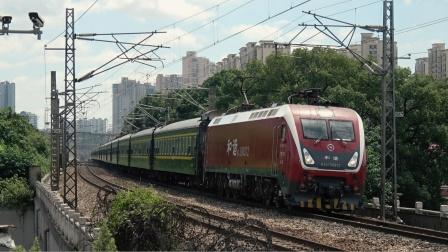 [火车][溜轴注意]HXD1D+25G+25B[K9001] 长沙-永州 广铁长沙京广下行