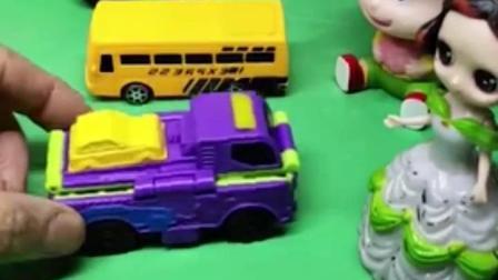 宝宝幼教亲子动漫:伙伴们的车都好棒啊